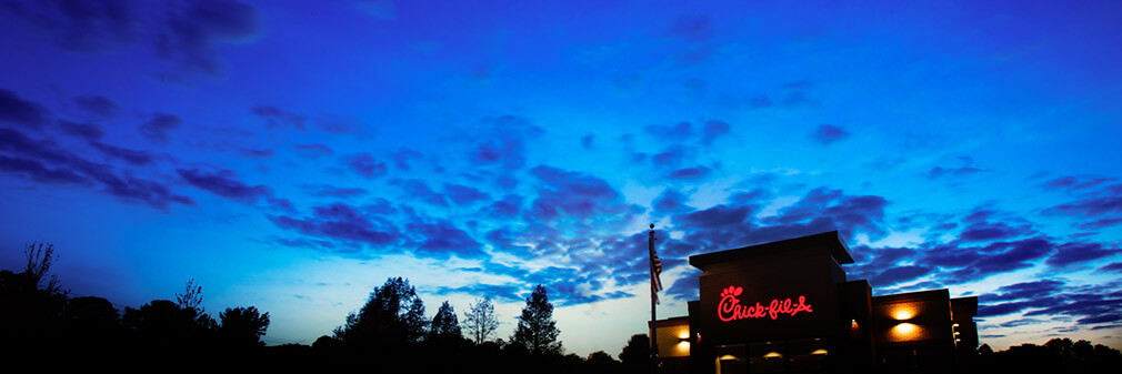 Chick-fil-A nightscape